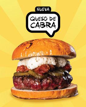 Nueva Burger: QUESO DE CABRA!!!!