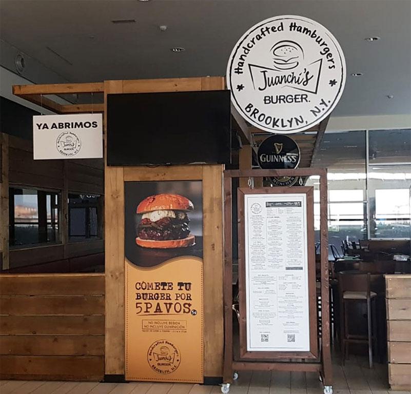 Nuevo restaurante, JuanchisBurger ahora en el Sambil de Madrid