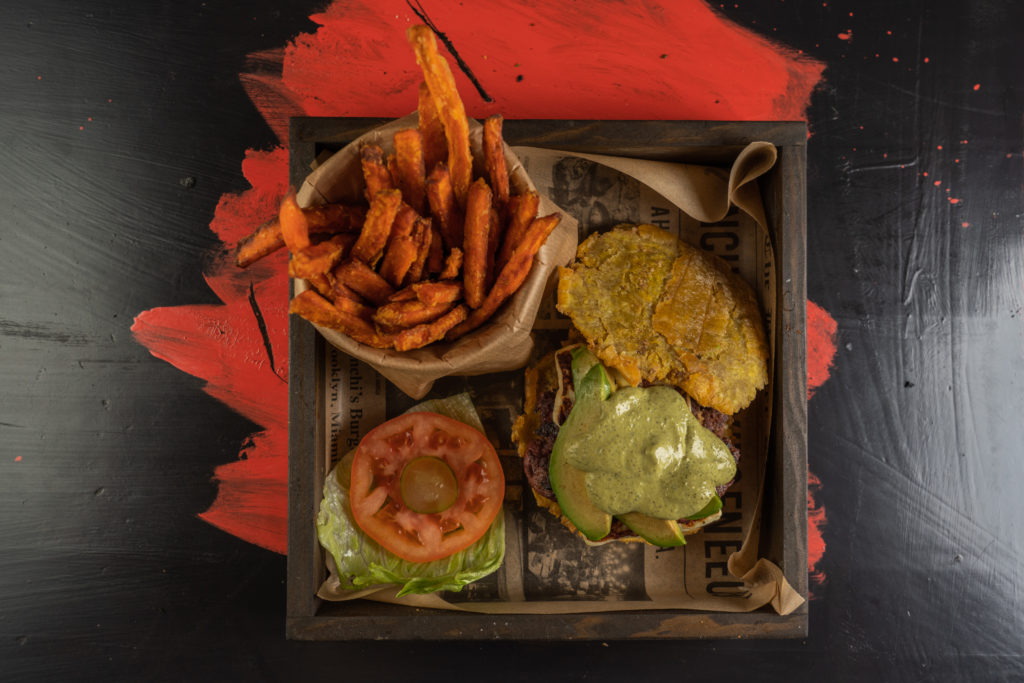 Patacón Burger, una nueva forma de comer hamburguesa